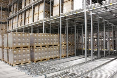 Orkla Foods, Norway - Pallet flow