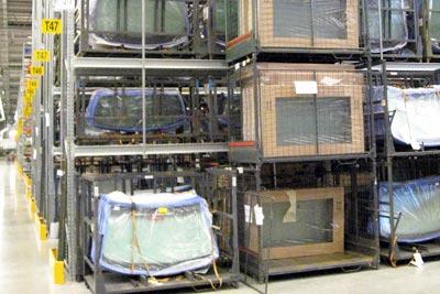 Bildelsförvaring Pallställ - Constructor
