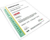 Certificate-DIN EN ISO 14001