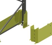 Kombinerat stolp- och gavelskydd