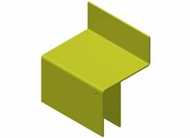 """Pallstopp """"stol"""" - Genomskjutningsskydd"""