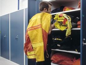 Låsbara förvaringsskåp