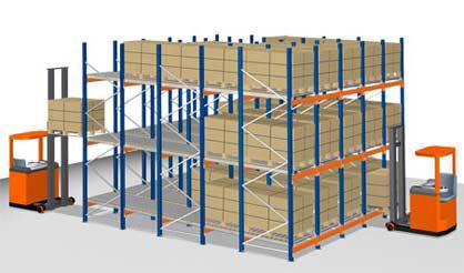 Kyl-/Frysförvaring Rullfack - Constructor